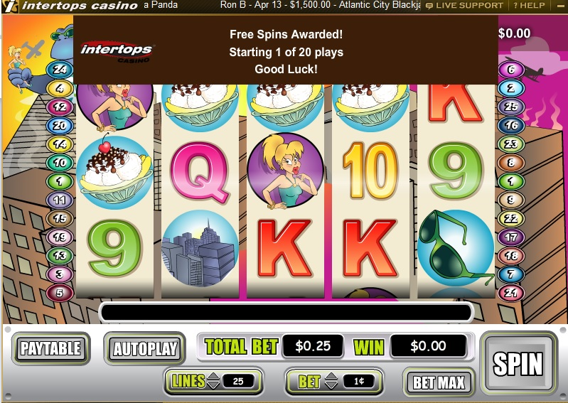 intertops casino classic no deposit bonus