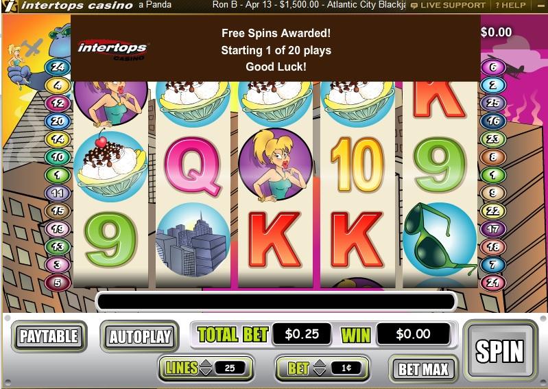 Intertops casino free money bonus code roulette 69 casino