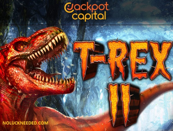 Jackpot Capital Casino Coupons 10 50 Free Spins New T Rex2