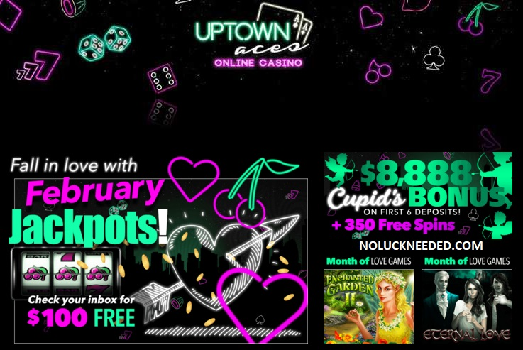 uptown aces no deposit coupons 2019