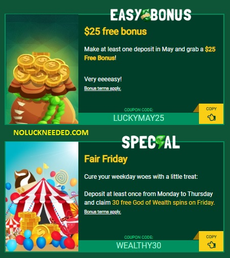 Fair Go Casino No Deposit Bonus Coupon Codes May 2019 Page 2
