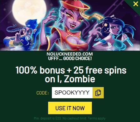 Fair Go Casino Halloween Coupons 13th Floor Bonus 100 25