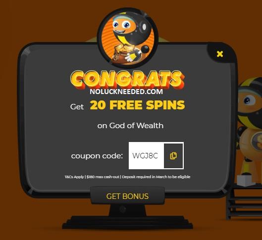 Slotastic Casino No Deposit Bonus Codes March 2020