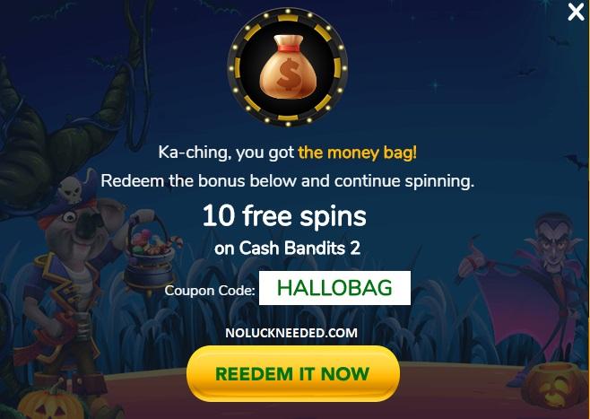 Fair Go Casino Coupons 10 Free Spins Cash Bandits 2